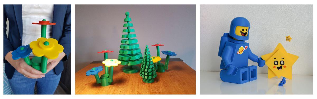 LEGO sanat: 3dwise
