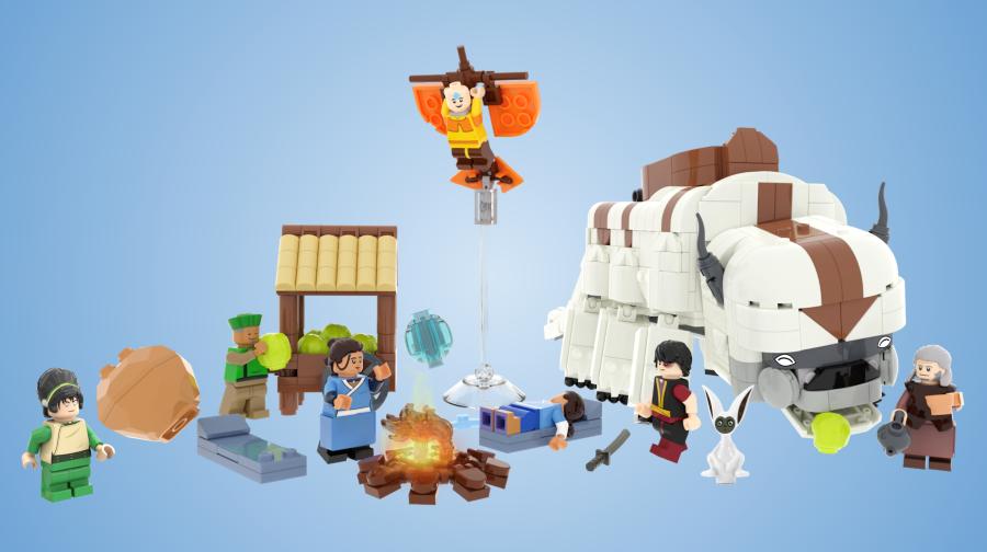 LEGO Avatar: Son Hava Bükücü Geri mi Geliyor?