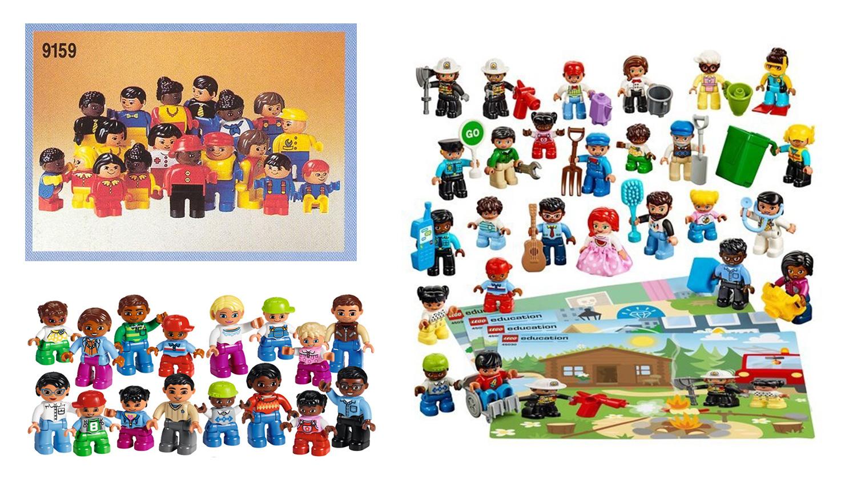 LEGO DUPLO Minifigür Ten Renkleri