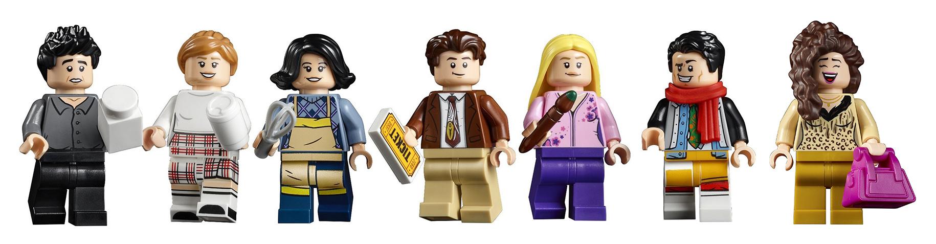 LEGO Friends The Apartments Minifigürleri