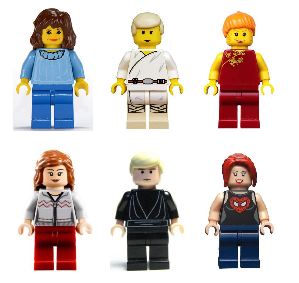LEGO Minifigür Ten Renkleri