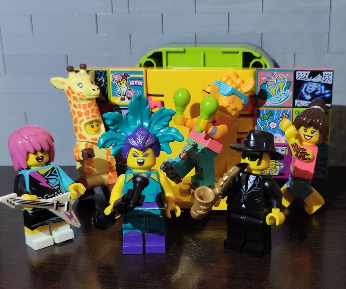 LEGO VIDIYO Minifigürleri ve Uygulaması