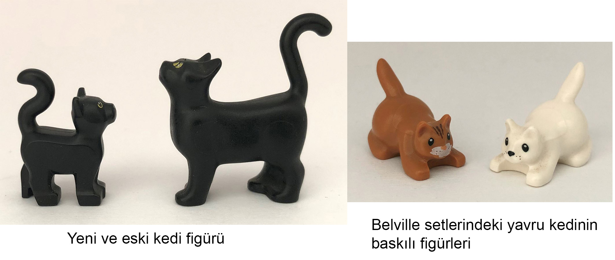 lego hayvan kedi