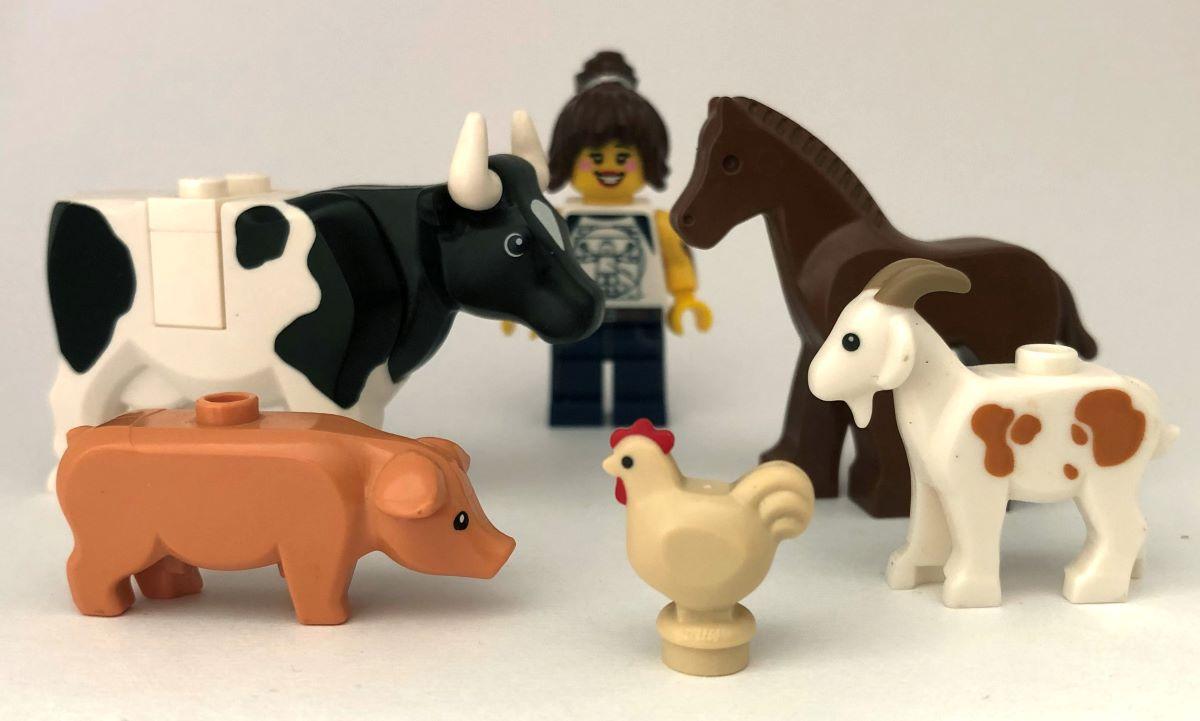 lego hayvan çiftlik
