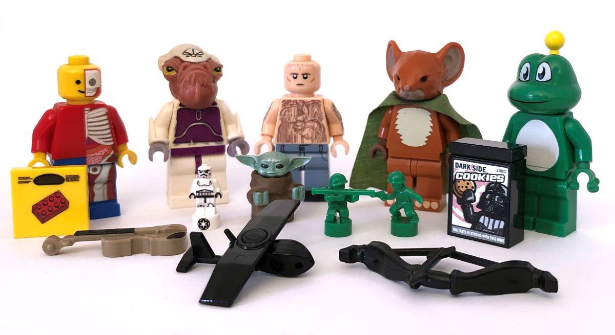 lego terimler sözlüğü kişiselleştirilmiş (custom) minifigürler