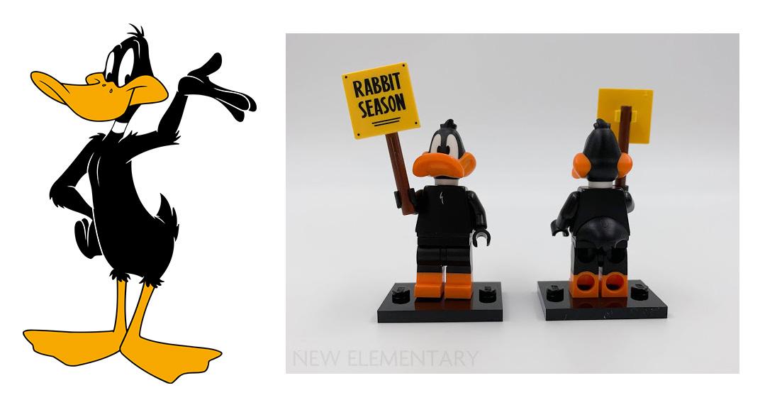 LEGO Looney Tunes Daffy Duck