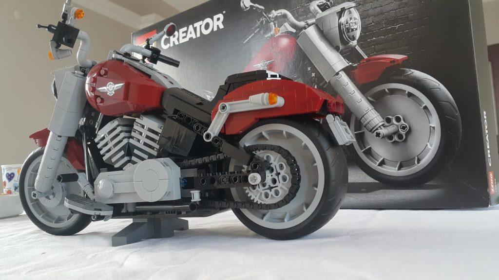 LEGO Harley Davidson Fat Boy Seti (10269)