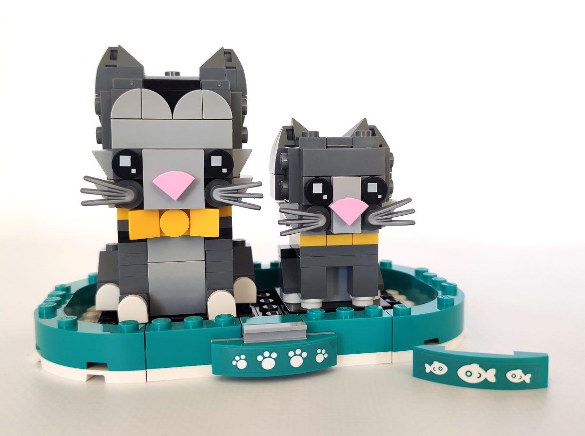 LEGO Brickheadz Pets: Shorthair Cats (40441) Set İncelemesi
