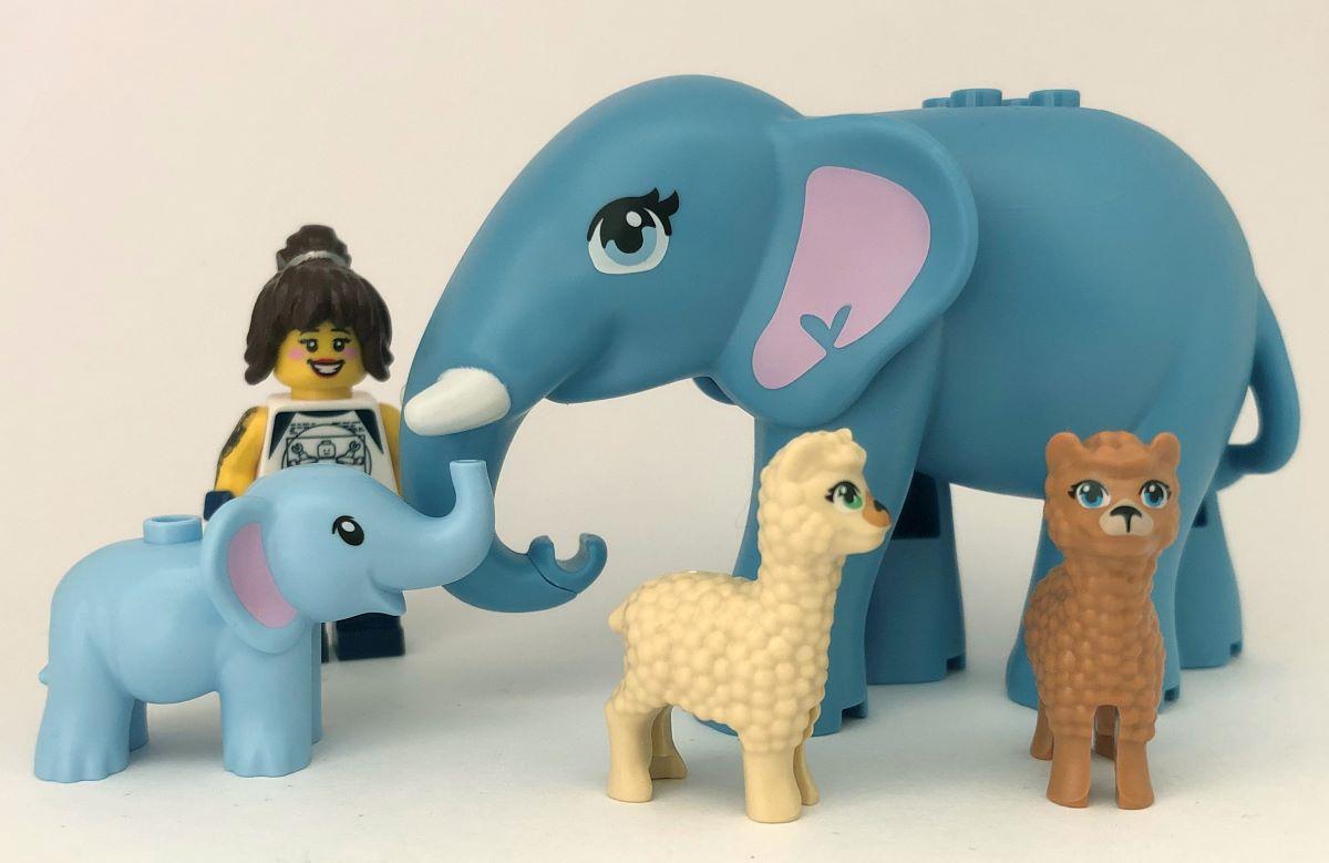 1983'ten Günümüze LEGO Hayvan Figürleri