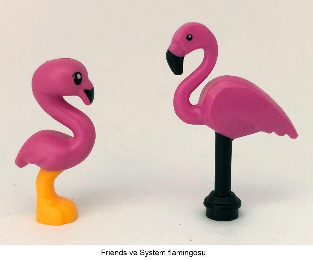 lego hayvan flamingo