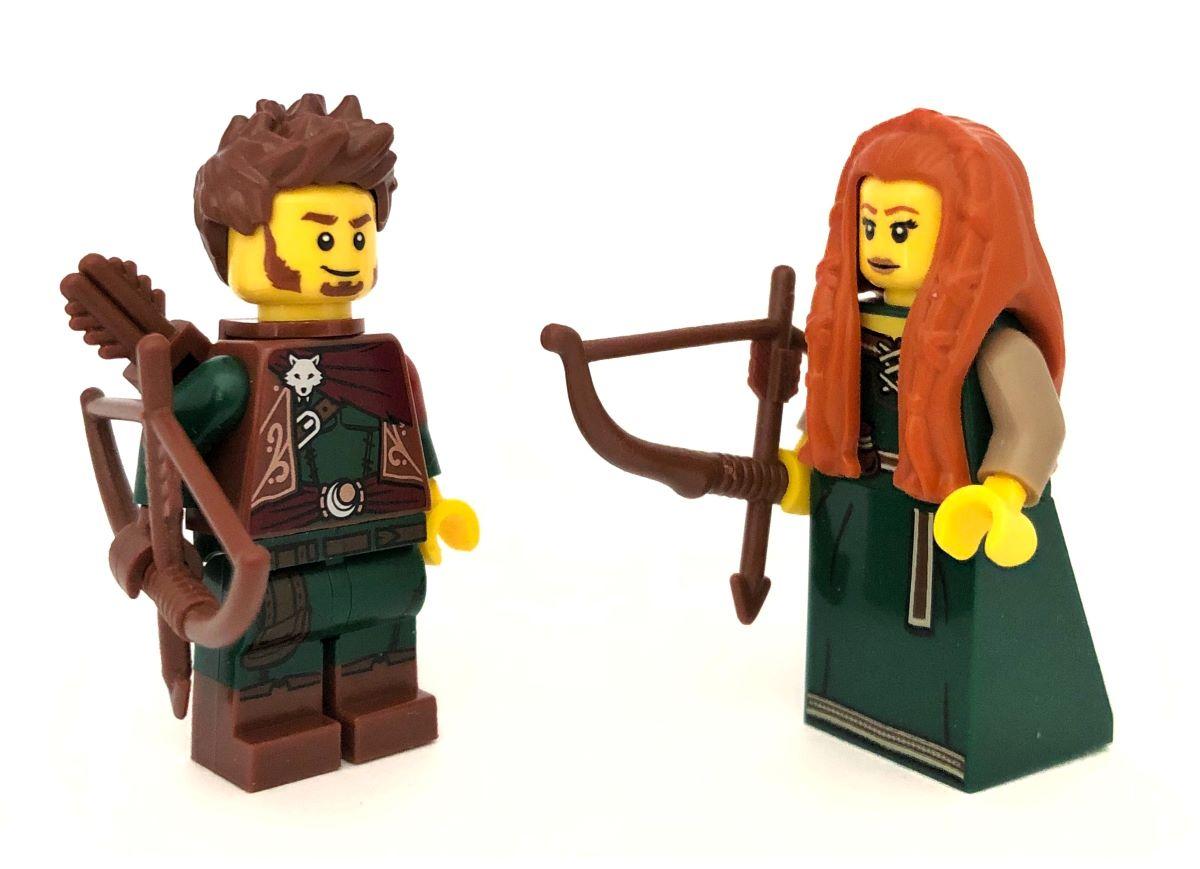 Zaman İçinde Minifigürler: Orman Halkı, Büyücüler ve Şövalyeler