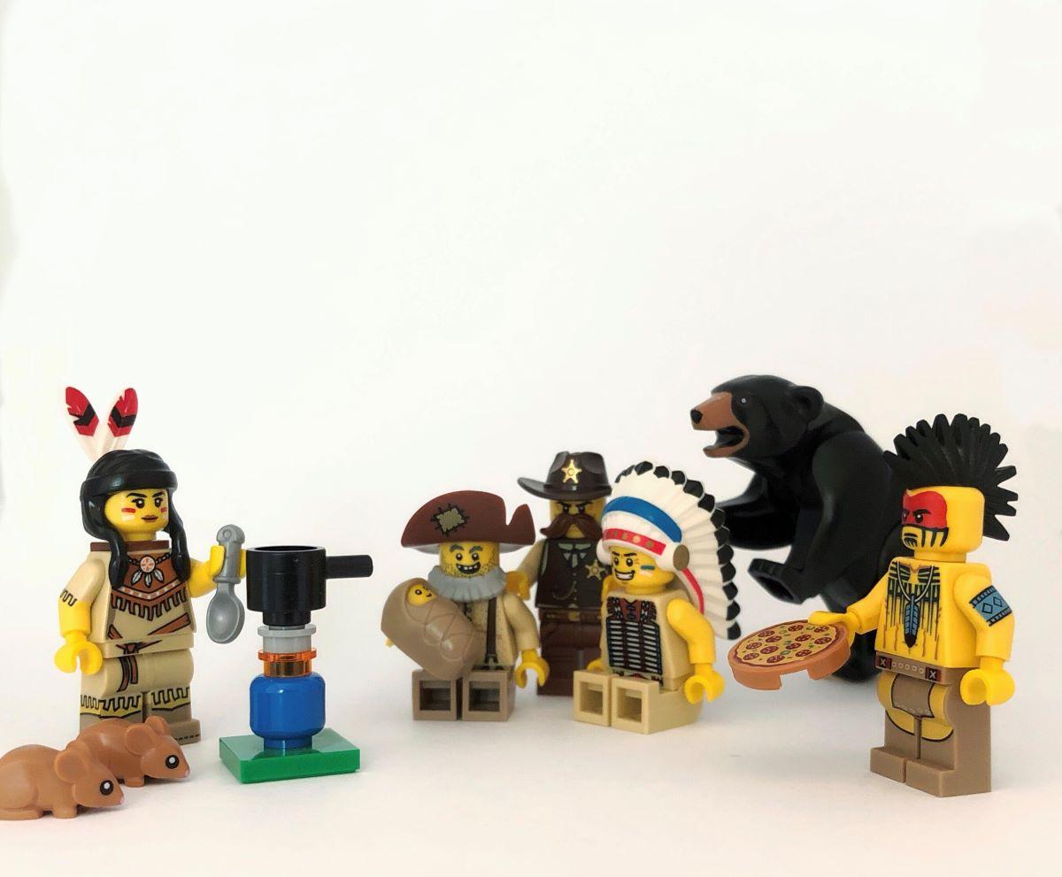 Zaman İçinde Minifigürler: Vahşi Batı!