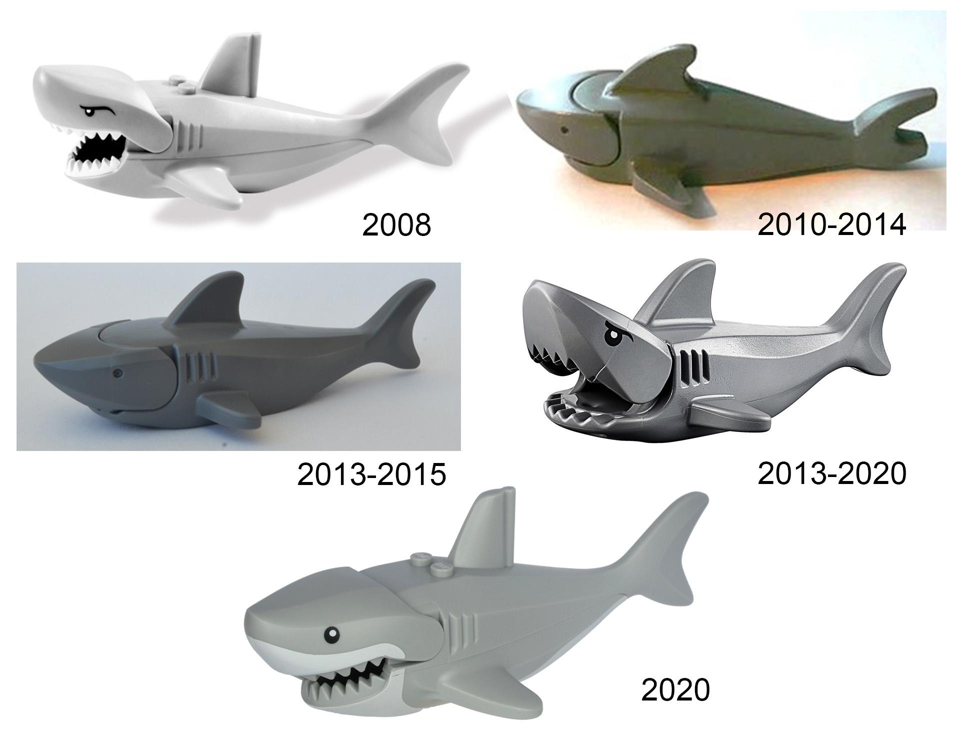 lego hayvan köpekbalığı