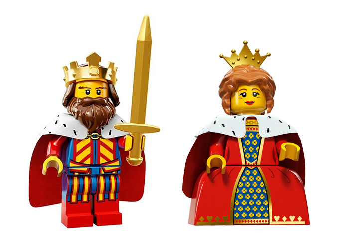 Zaman İçinde Minifigürler: Kraliyet Ailesi