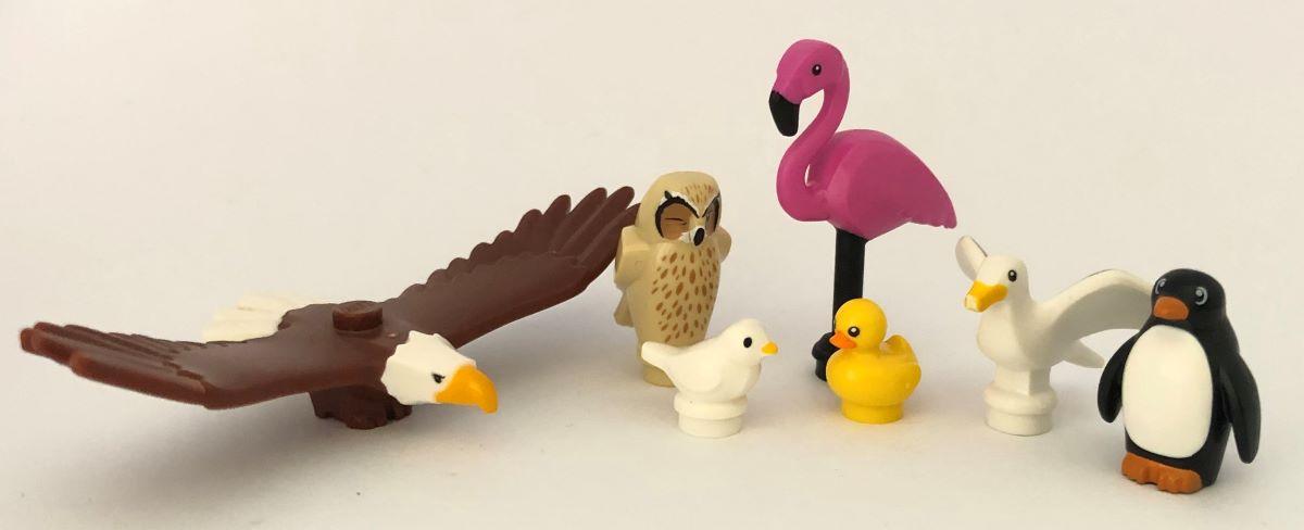 lego hayvan kuş