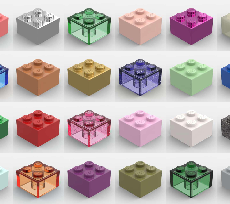 LEGO Renkleri Tarihi: Renklerin Geçirdiği İnanılmaz Değişim