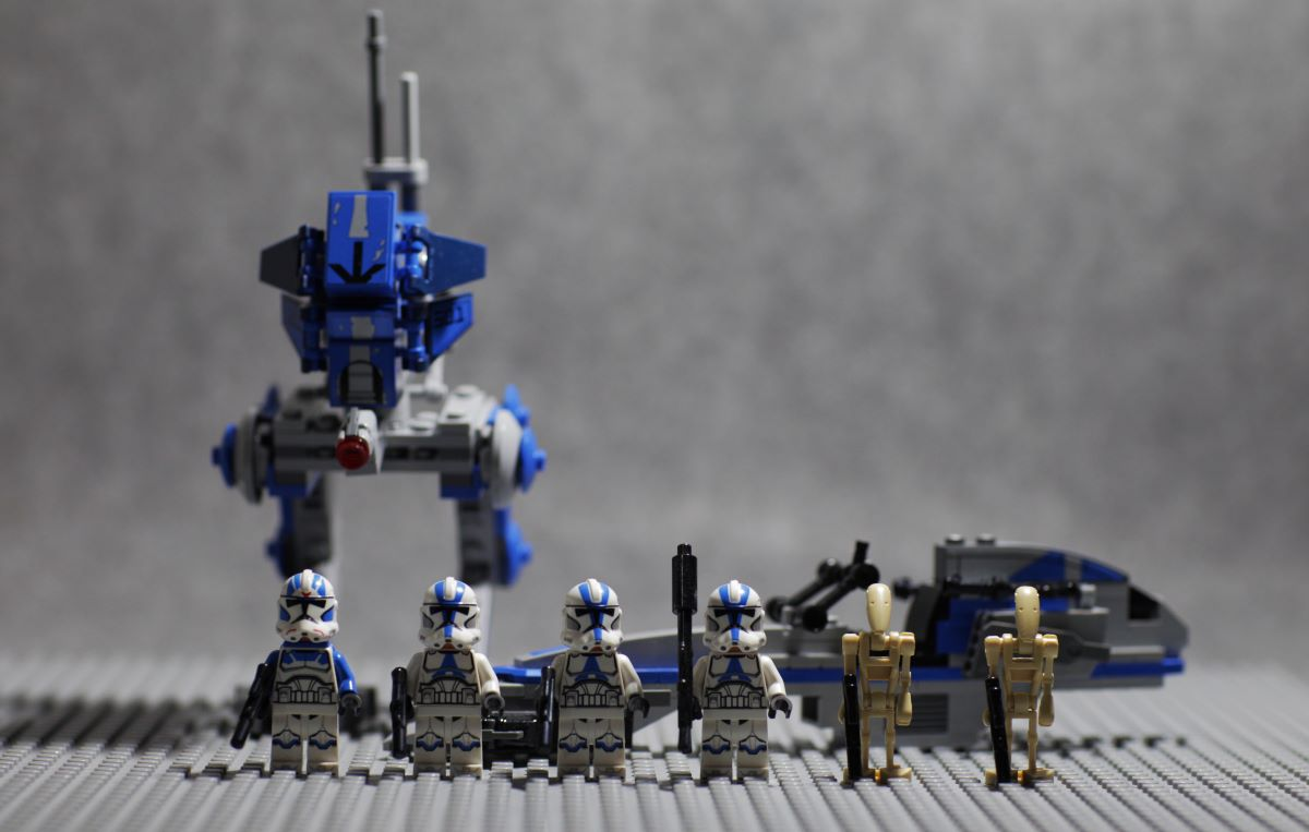 LEGO 75280 501. Lejyon Klon Askerleri Set İncelemesi